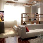 Спальня-гостиная из одной комнаты