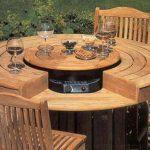 Стильная дачная мебель из дерева
