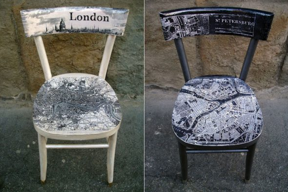 стильний стул