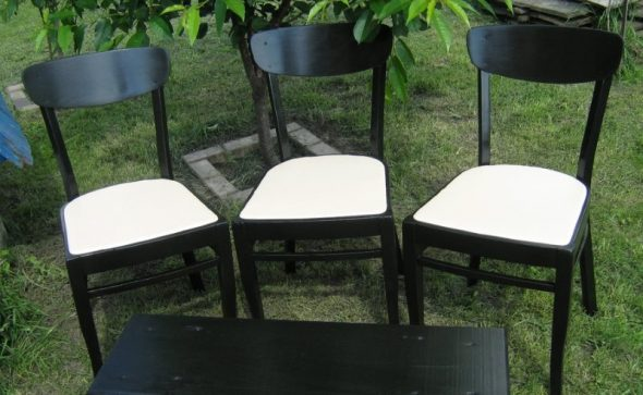 стул своими руками-реставрация