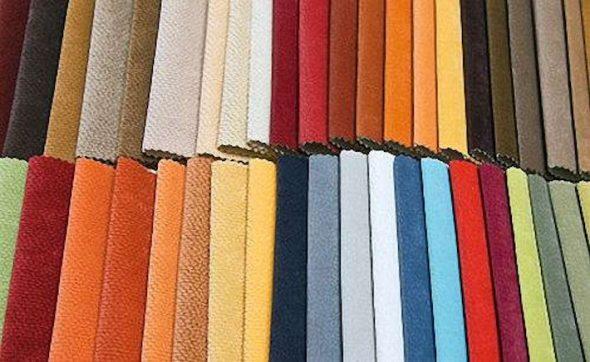 Виды тканей для обивки мебели