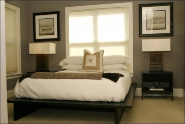 Взрослая спальня в стиле модерн