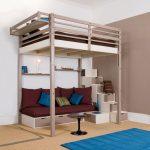 Односпальная кровать-чердак для взрослого