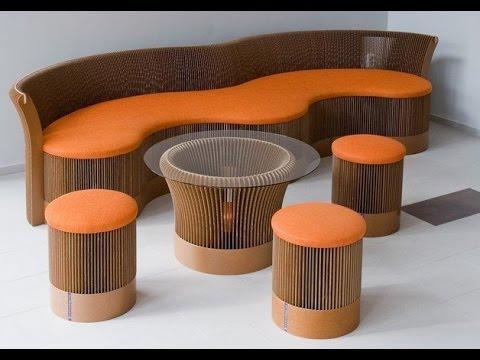 Бюджетная мебель из картона