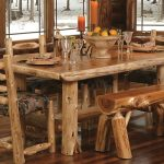 Деревянный обеденный комплект своими руками