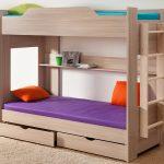 Детская двухъярусная кровать с выдвижными ящиками