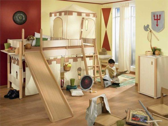 Детская комната рыцаря