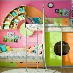 """Детская мебель для двоих детей """"Выше Радуги"""""""