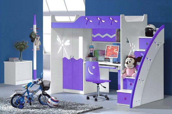 Детская мебель для спальни из МДФ