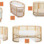 Детские кроватки -трансформеры 6 в 1