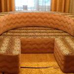 Диван-кровать трансформер в маленькой комнате