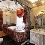 Дизайн необычной роскошной ванной