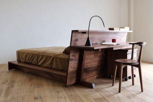 Дизайнерская мебель из американского ореха