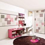 Дизайнерская спальня для девочек с кроватью-трансформер