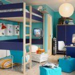Двухъярусная кровать для взрослого в интерьере