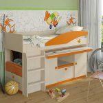 Функциональная кровать для ребенка