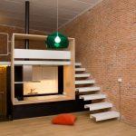Гостиная-спальня в стиле лофт