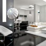 Гостиная-столовая в современном стиле