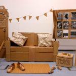 Изготовление мебели из коробок своими руками