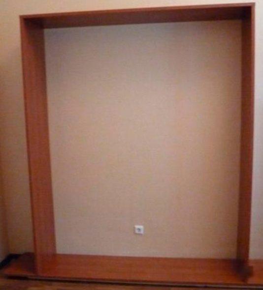 Каркас шкафа кровати
