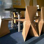 Картонные стулья для кухни