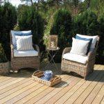 Красивая и стильная плетеная мебель