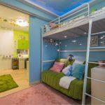 Кровать-чердак СВЭРТА с диваном на первом ярусе
