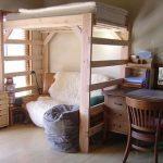 Деревянная кровать-чердак своими руками
