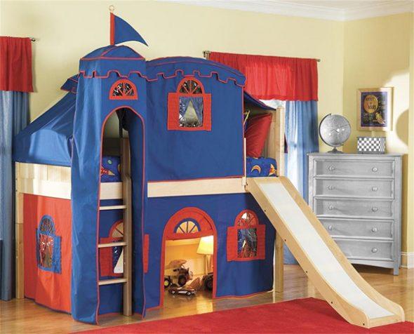 """Кровать-чердак """"Замок"""""""