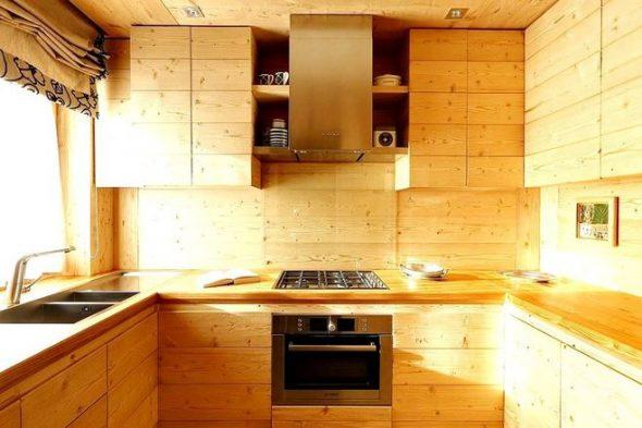 Кухня из фанеры своими руками