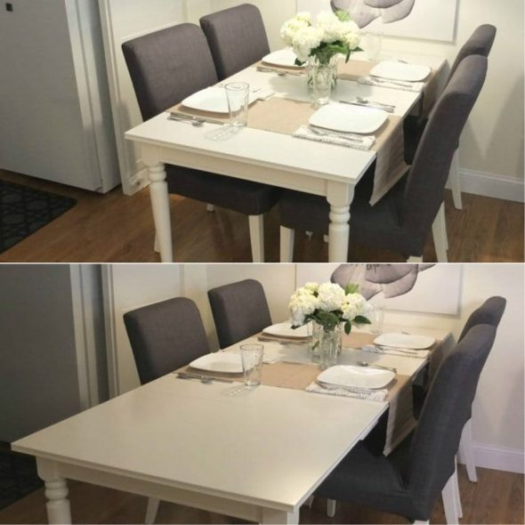 Кухонный раздвижной стол