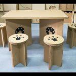 Мебель из картона для дома своими руками