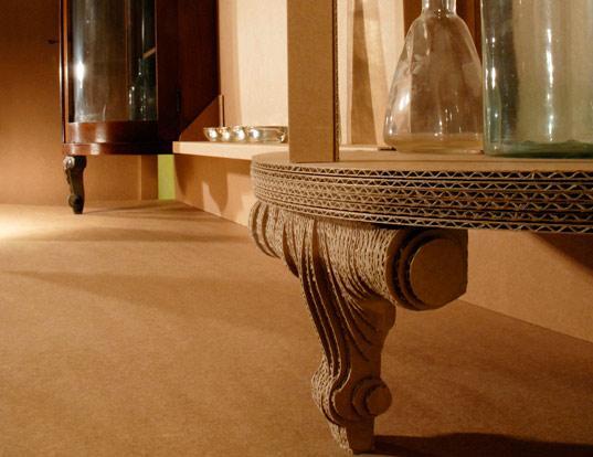 Мебель ручной работы из картона