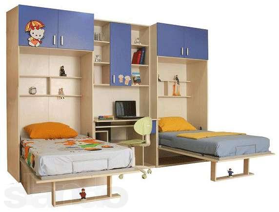 Мебель трансформер для мальчика и девочки
