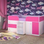 Милая и нежная комната для девочки