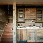 Миниатюрная кухня из паллет