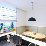 Мягкий кухонный уголок в интерьере