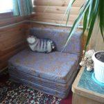 Мягкое кресло для балкона своими руками
