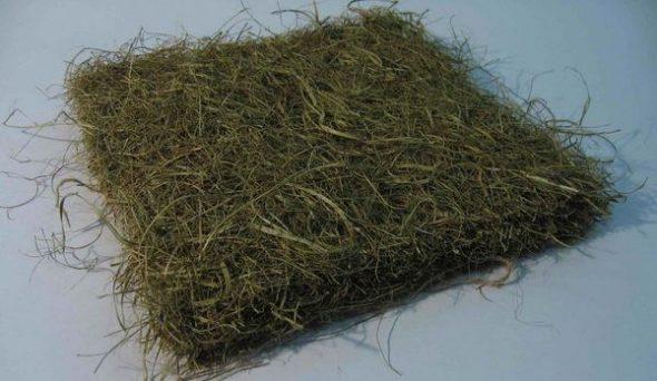 Наполнитель для мягкой мебели - морская трава