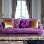Необычный диван в этностиле