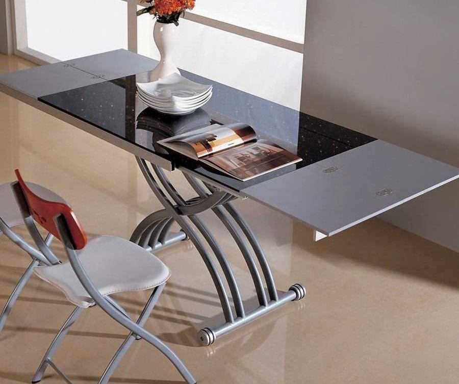 металлический стол трансформер