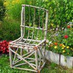 Необычный стул для декора
