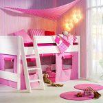 Нежная маленькая спальня для девочки