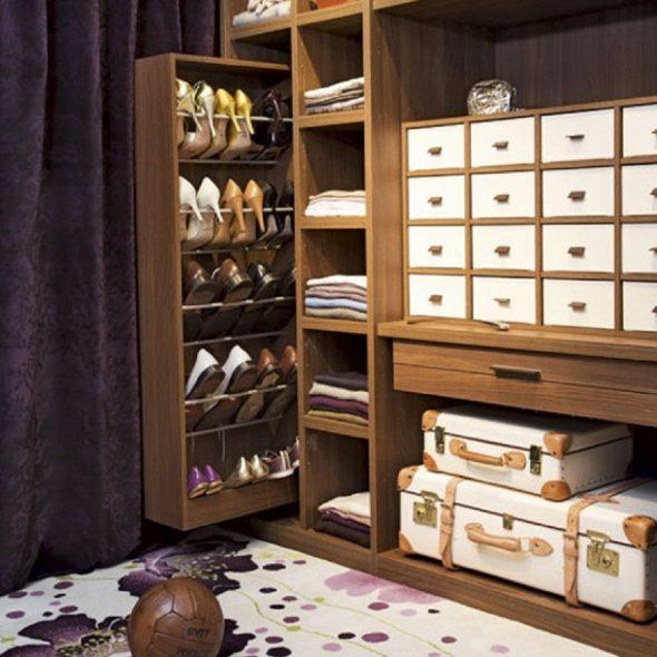 Оригинальный выдвижной шкаф для обуви