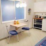 Откидной маленький кухонный стол
