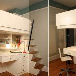 Отличная идея оформления маленького пространства в комнате