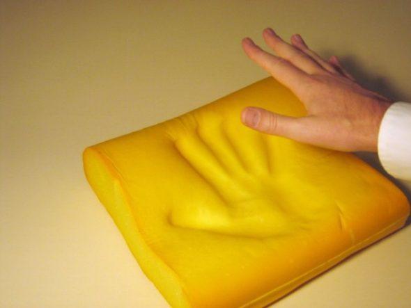 Отпечаток формы руки
