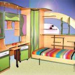 Подъемные металлические кровати-трансформеры для детей
