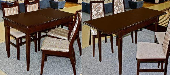Прямоугольный раскладывающийся стол