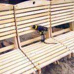 Раскладное кресло для дачи